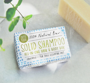 Natural Vegan Solid Shampoo Bar - Lavender and Tea Tree