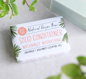 Natural Vegan Solid Conditioner Bar - Lavender and Rosemary