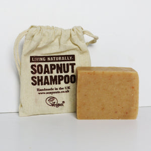 Hemp & Patchouli Soapnut Shampoo Bar