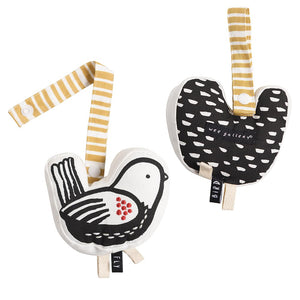 Organic Cotton Bird Stroller Toy