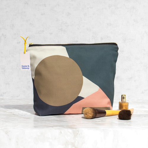Geometic Wash Bag