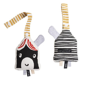 Organic Cotton House Stroller Toy