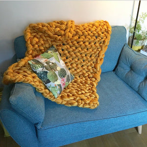 Arm-Knitted Blanket Workshop - Thurs 12th March
