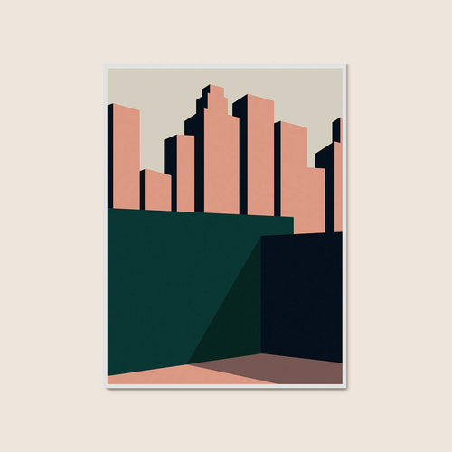 The City Print 30x40cm