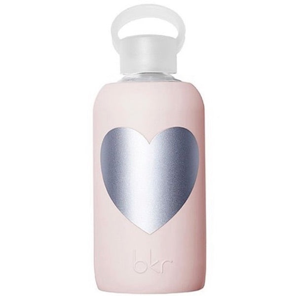 TUTU WITH SILVER HEART WATER BOTTLE - 16 OZ.