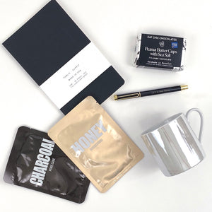 eat chic peanut butter and sea salt chocolates, public supply journal