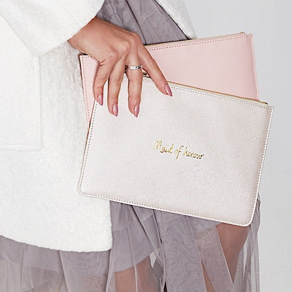 "PERFECT POUCH - BRIDAL - ""I do, today tomorrow always"""