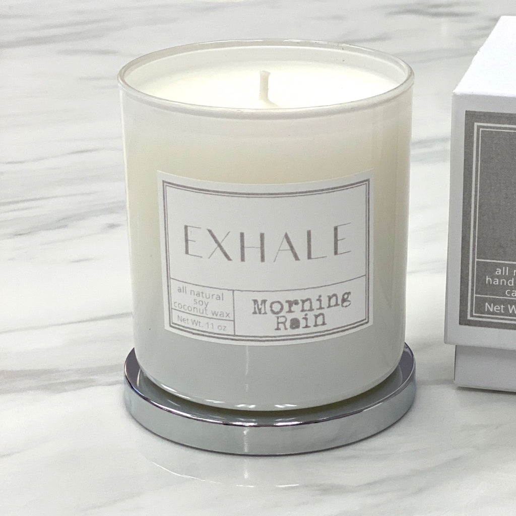 mint-lavender exclusive exhale candle