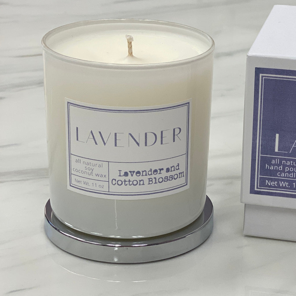 Mint-lavender exclusive lavender candle