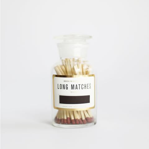 BROOKLYN CANDLE STUDIO LONG MATCHES