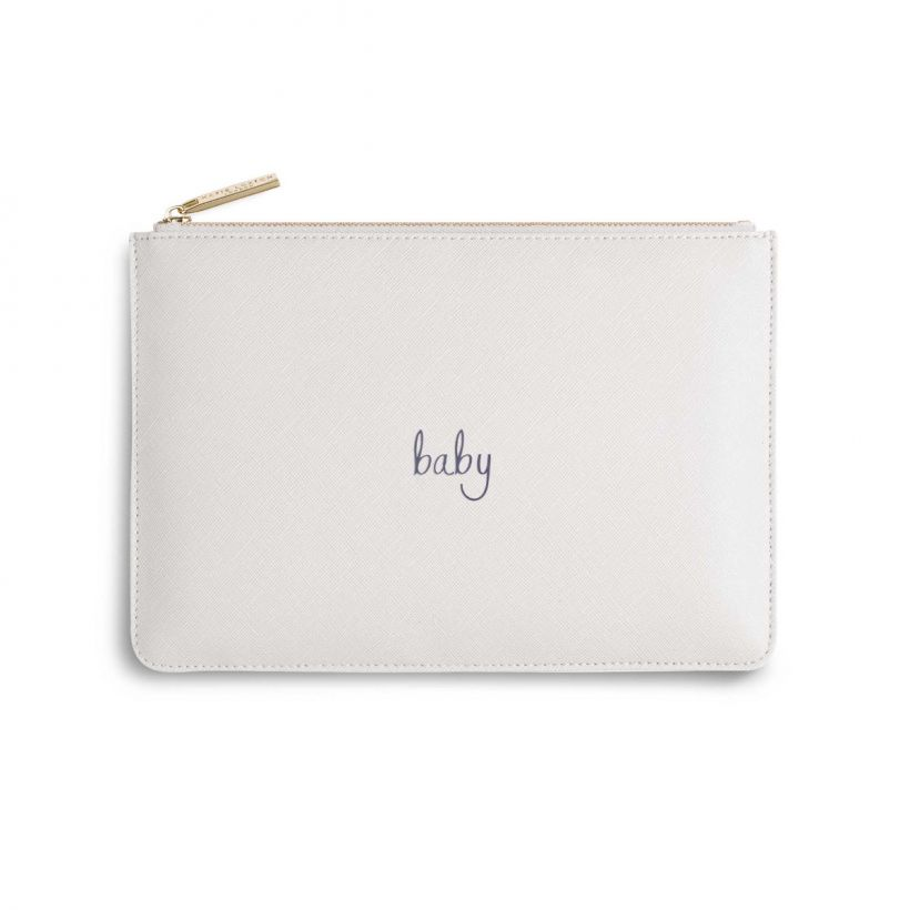 KATIE LOXTON PERFECT POUCH - BABY - WHITE