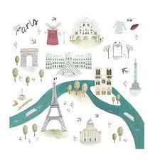 LOULOU LOLLIPOP MUSLIN SWADDLE - PARIS