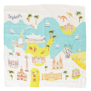 loulou lollipop muslin Sydney swaddle