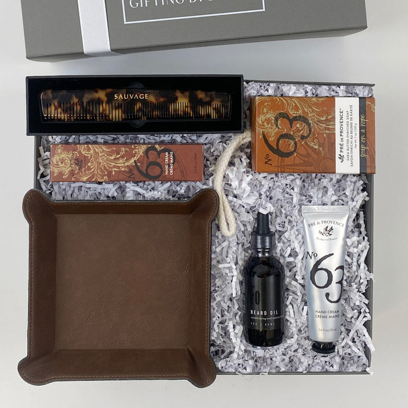 mint-lavender rugged gentleman gift box