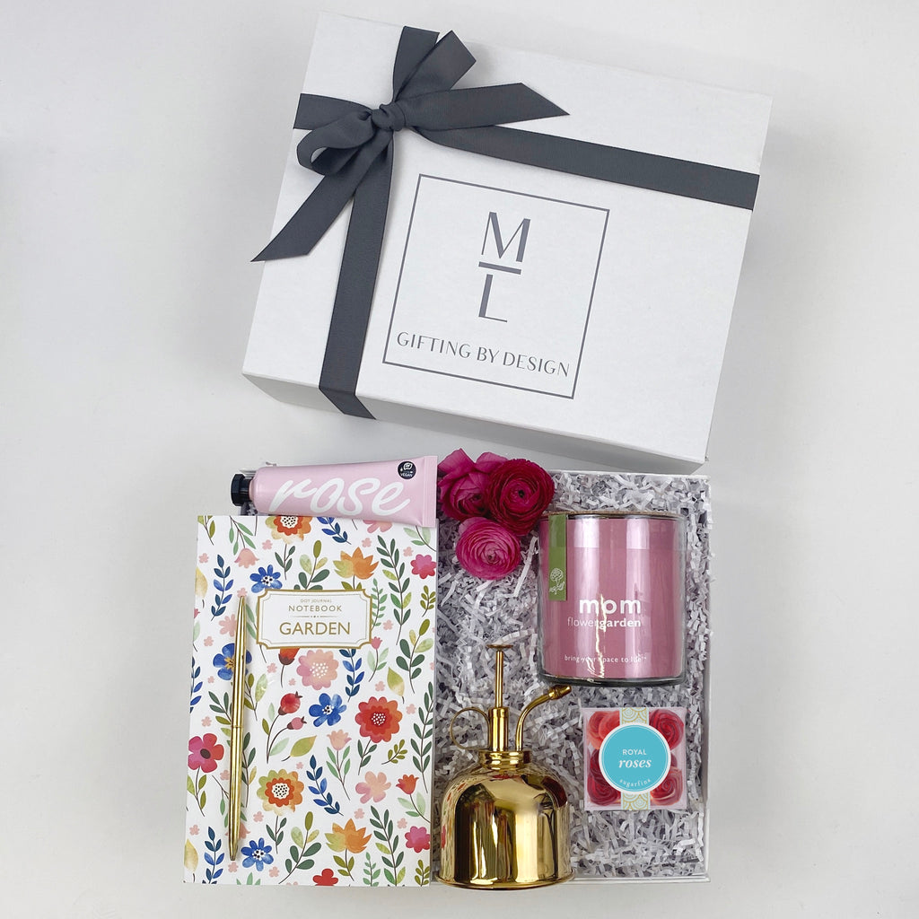 mint-lavender mother's day gift box