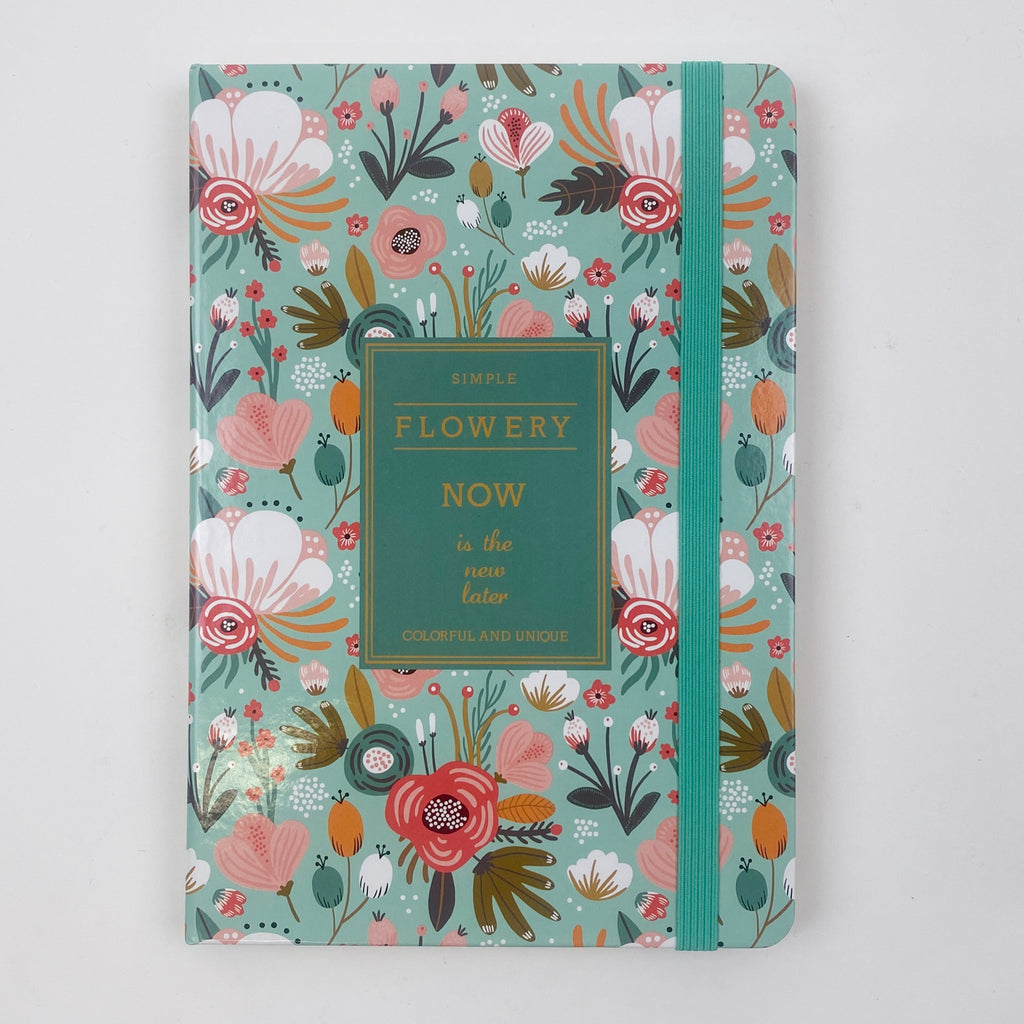 NOW IS THE NEW LATER JOURNAL - GREEN