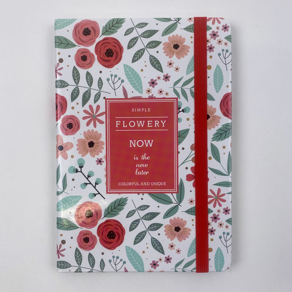 NOW IS THE NEW LATER JOURNAL - ORANGE