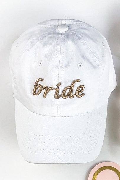 MINT-LAVENDER BRIDE BASEBALL CAP
