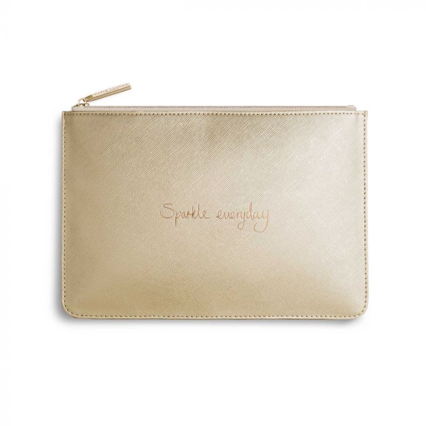 "PERFECT POUCH - ""SPARKLE EVERYDAY"""