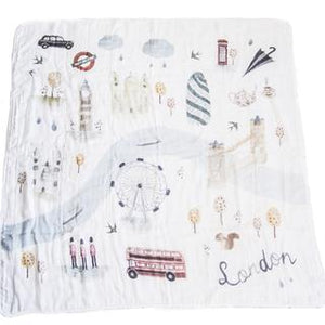 Loulou lollipop muslin London swaddle