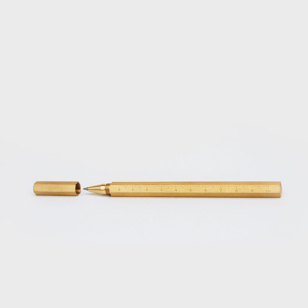 ERGONOMIC BRASS PEN