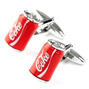CUFFLINKS - COKE CAN