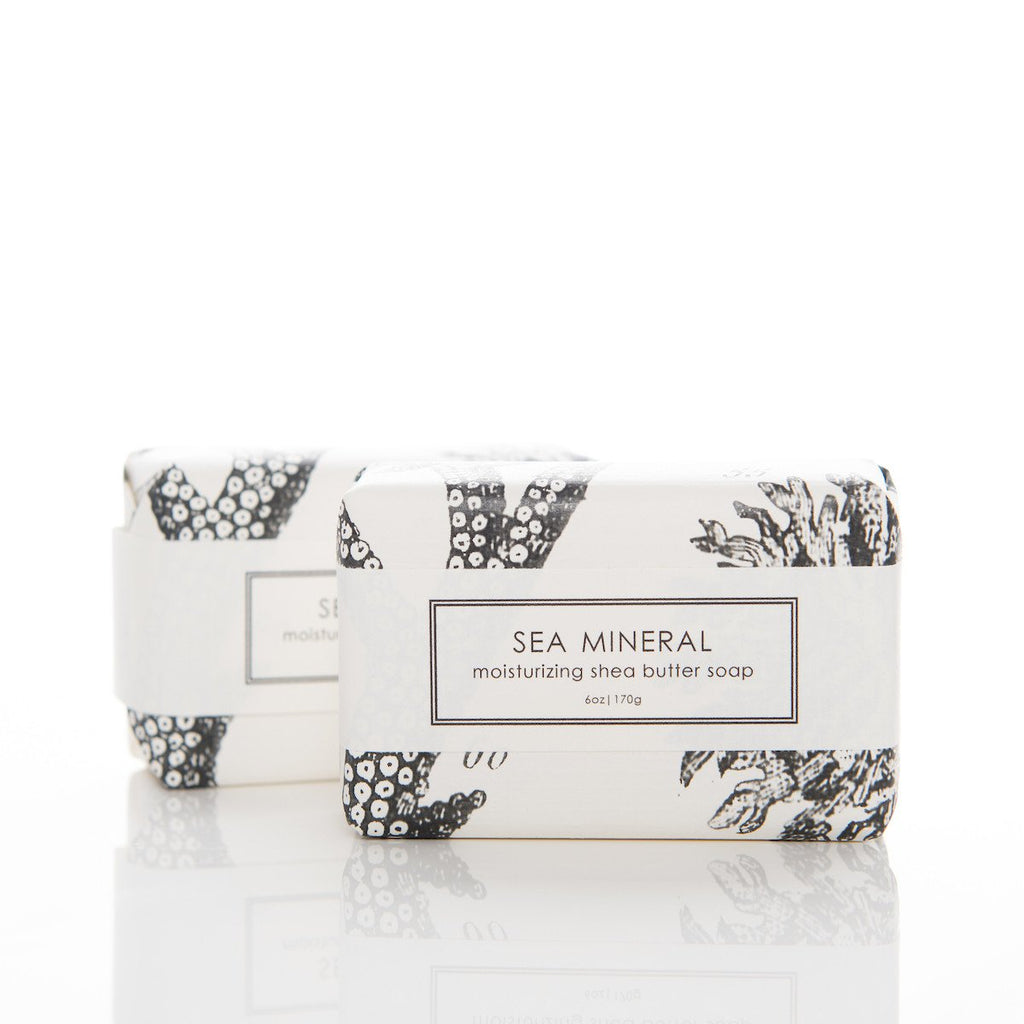 SEA MINERAL SHEA BUTTER SOAP