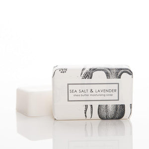 SEA SALT AND LAVENDER SHEA BUTTER SOAP