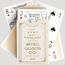 PLAYING CARDS - IVORY AND GOLD