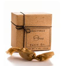 SHOTWELL CANDY CO. SMOKED BUTTERSCOTCH CARAMELS