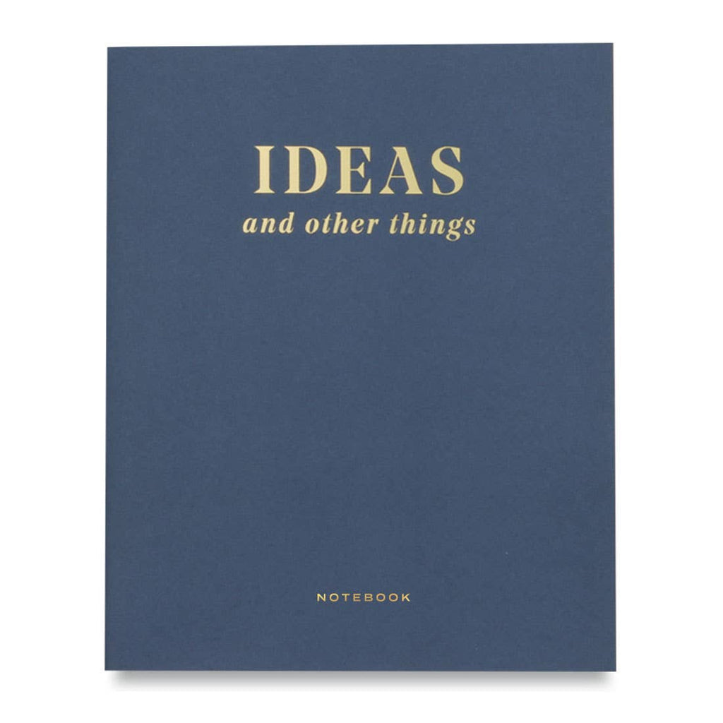 """IDEAS AND OTHER THINGS"" NOTEBOOK"
