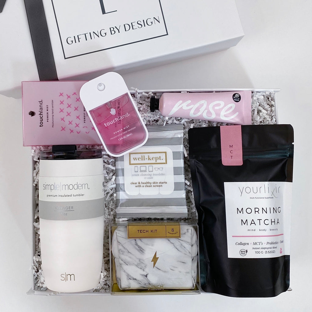 Many-lavender morning matcha gift box