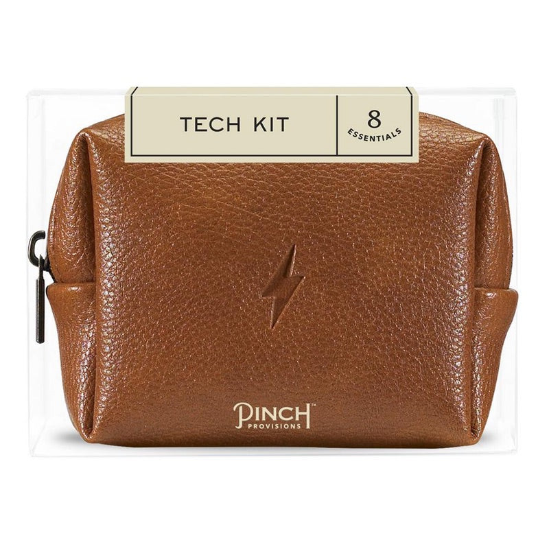 PINCH PROVISIONS TECH KIT - COGNAC LEATHER