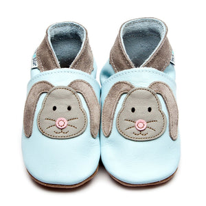 inch blue rag bunny blue booties