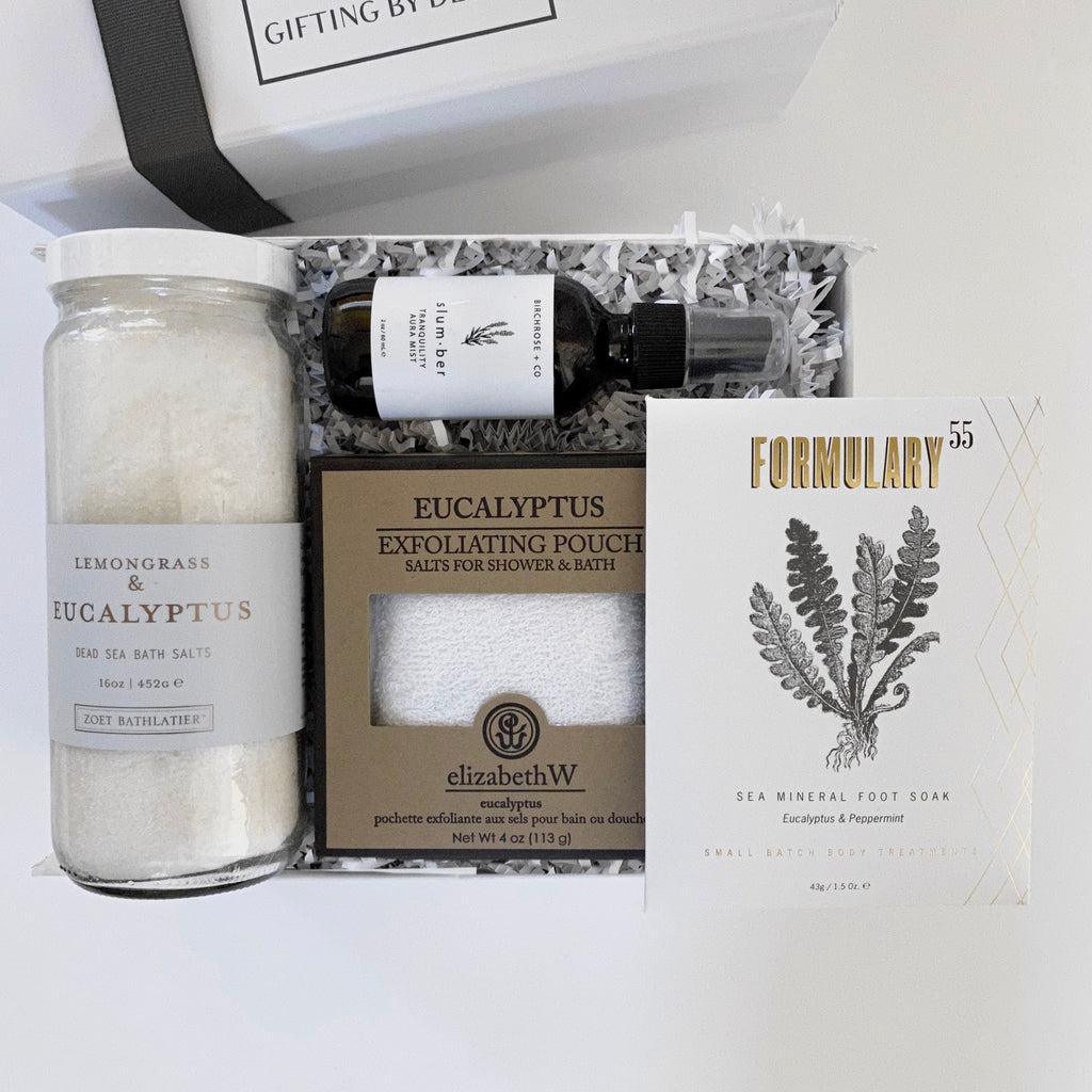 Zoet bathlatier lemongrass and eucalyptus bath salts