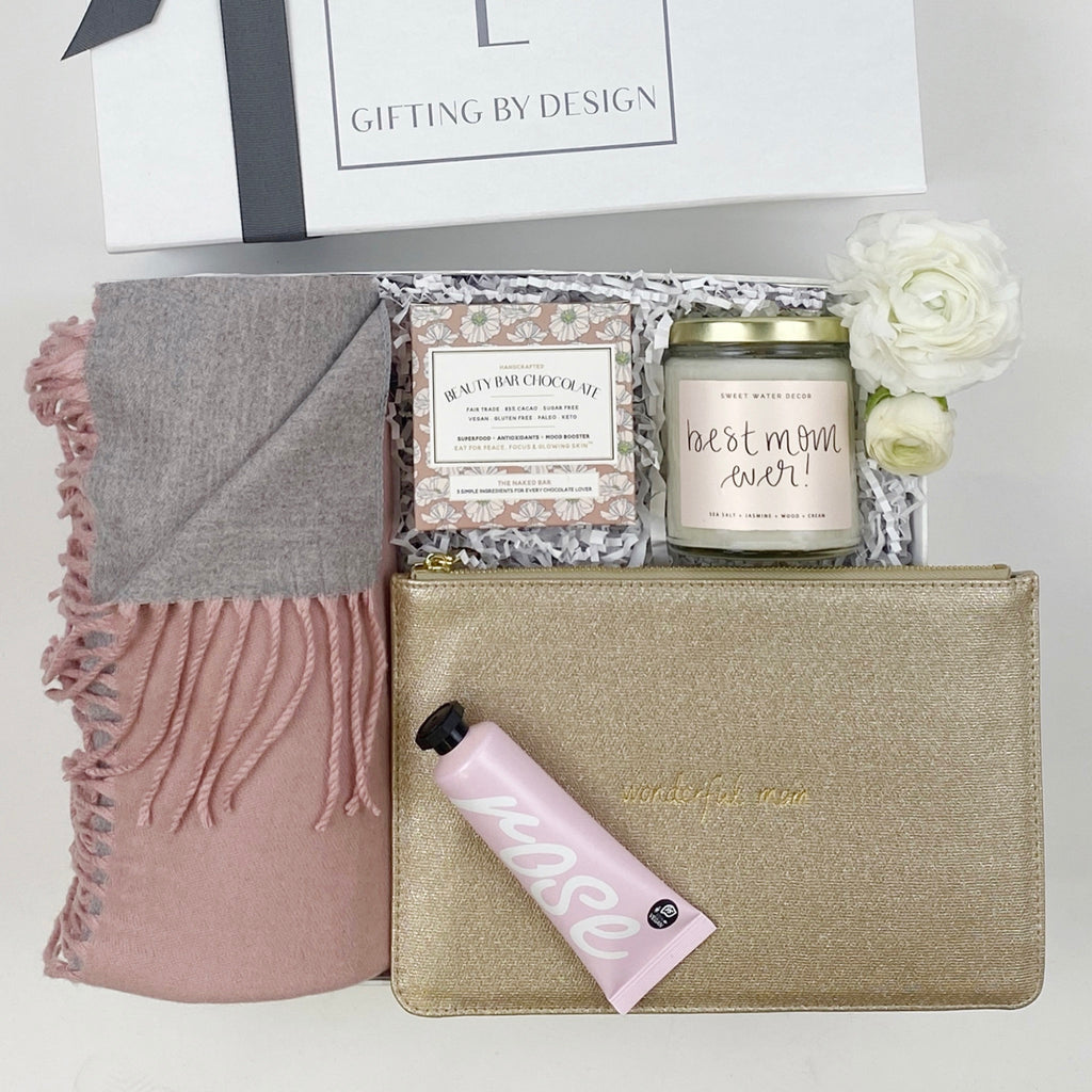 mint-lavender wonderful mom mother's day gift box