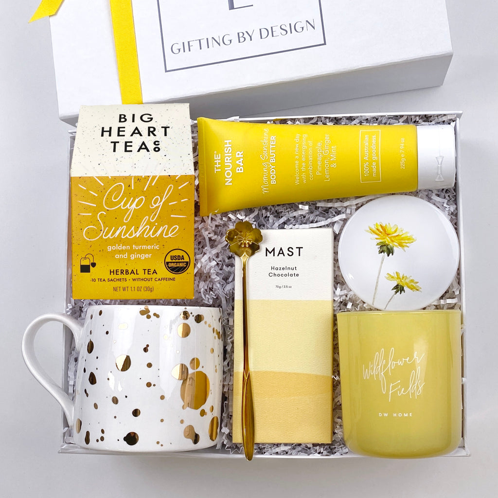mint-lavender you are my sunshine mother's day gift box