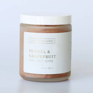 FENNEL + GRAPEFRUIT SALT SCRUB