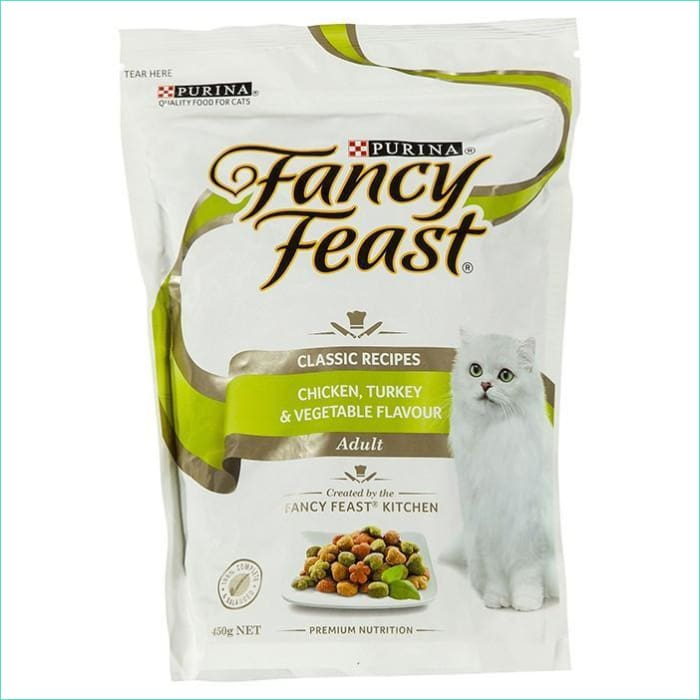 Fancy Feast Chicken Turkey Vegetable 450G - Cat Food