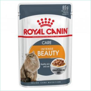 Royal Canin 85G Pouch Singles - Care: Intense Beauty - Cat Food