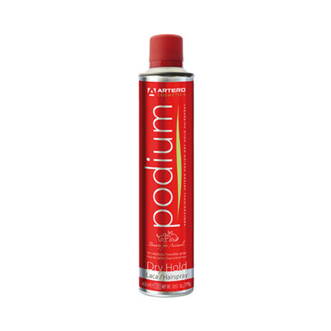 Artero Hair spray PODIUM DRY Hold (Red can)
