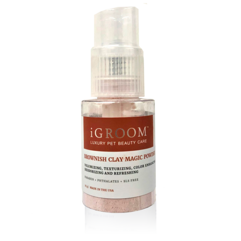 Brownish Clay Magic Powder