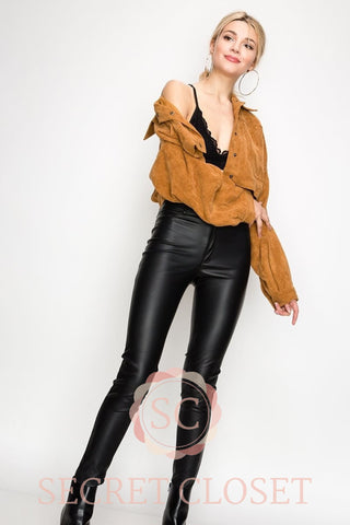Camel Corduroy Crop Jacket Clothing