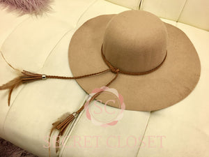 Camel Wool Hat Accessory