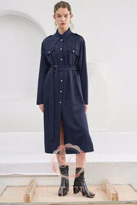 Navy Dress/coat Clothing