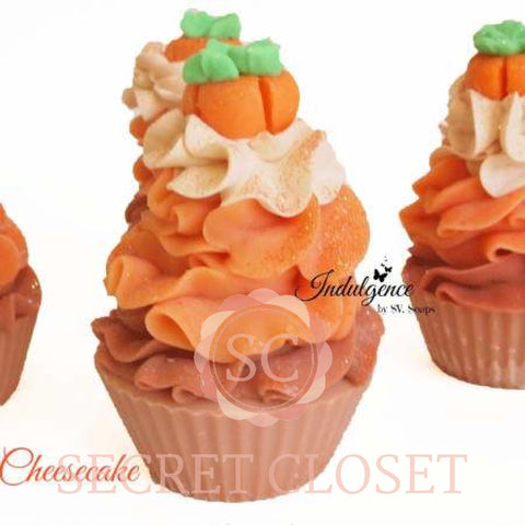 Pumpkin Cheesecake Soap Cupcake Bath