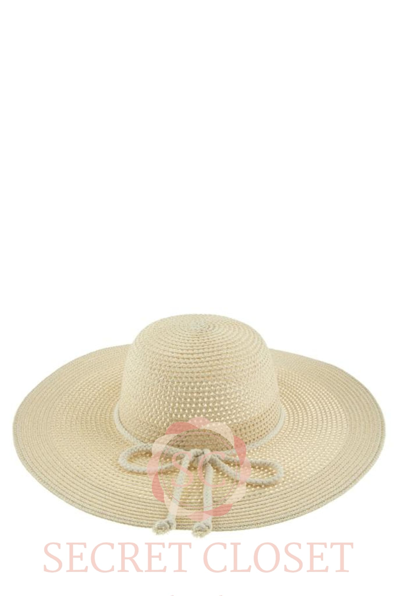 Ribbon Paper Straw Hat Accessory