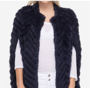 Rabbit Fur Cape
