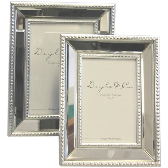 Double Edge Bead Mirror Frame