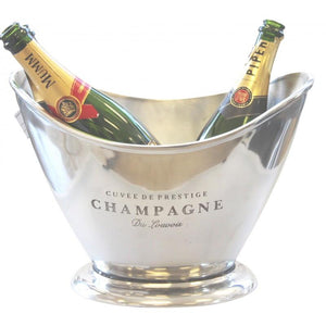 Aluminium Oval Champagne Party Tub